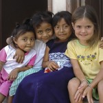 Waisen verschiedener Nationen